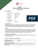 01 Silabo Nivelacion de Matematica Pau 2020-Mar