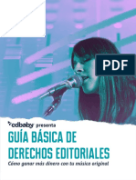 DERECHOS EDITORIALES