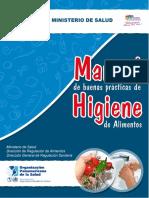 Manual HIgiene Alimentos MINSA NIC 2011