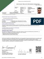 Certificado Medico Luis Felipe Osorio Diaz