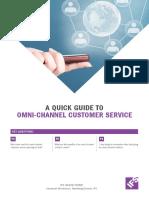 A Quick Guide to Omni Channel Customer Service