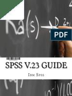 2spss v.23 Guide