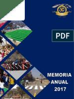 Memoria Anual Del Año Fiscal 2017