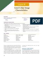 Caracteristicas de Imagen Lannucci Dental Radiography Principles and Techniques