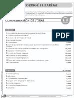 Exemple 2 Sujet Delf b2 Junior Document Correcteur Corrige