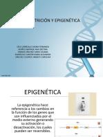 Nutrición y Epigenética Diapositiva - Sigan Trabajandolo