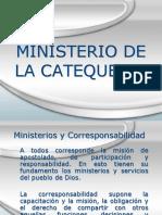 Minister Ios cateqquistas