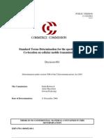 Mobile Co-Location STD - Decision Report