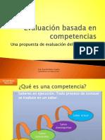 evaluación basada en competencias