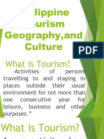Philippine Tourism Geography ,And Culture Powerpoint Made
