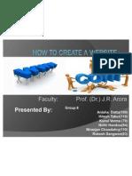 How to Create a Website Presentation