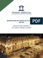 Juzgado de Letras de Competencia Común - Civil, Laboral, Cobranza y Garantia
