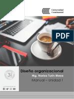 Manual de Diseño Organizacional