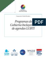 PROGRAMAS GOBIERNOS INCLUYENTES LGBTI