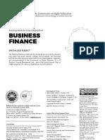 Business Finance TG