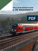 Train Sim World Main-Spessart Bahn Manual de Maquinista - ES