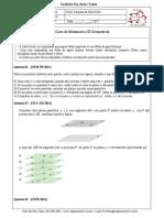 Lista de Matemática II- 2 ª Série