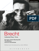 Brecht Bertolt Collected Plays Vol. 3 Methuen 1998 1
