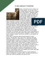 Mito de Apolo y Dafne
