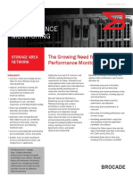 Brocade Advanced Performance Monitoring Ds