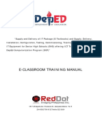 TRAINING MANUAL DCP 2018