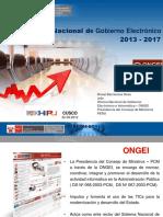 Plan Nacional de Gobierno Electrónico e Informática, Ronal Barrientos Deza, Jefe-ONGEI