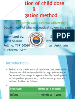 Calculation of Dose