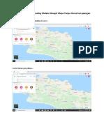 Proses Membuat Geocoding Melalui Google Maps Tanpa Harus Ke Lapangan