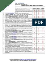 Dk Visa Checklist