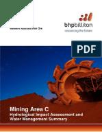 Water Management BHP Billiton