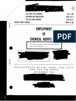 "US Army Field Manual FM 3-10B ""Employment of Chemical Agents"" (1966) - Declassified Portions on BZ"