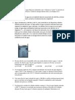 Ejercicios Primera Ley de La Termodinámica