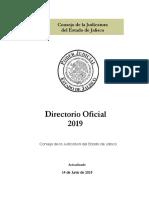 Directorio oficial 2019