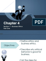 Ch4.1 Ethics