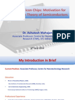 1-Introduction to the World of Semiconductors-10-Jul-2019Material I 10-Jul-2019 Class 1 Introduction to Semiconductor World