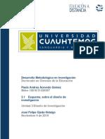 Esquema Sobre El Diseño de Investigación_Acevedo_Paula