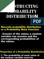 Constructing Probability Distribution
