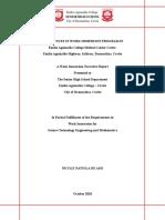 format of a narrative report