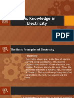 Basic Knowledge in Electricity