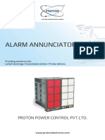 Alarm Annunciators With Plastic Enclosure