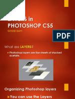 Layers in Photoshop Cs5
