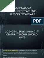 Technology enhanced teaching lesson exemplars.pptx