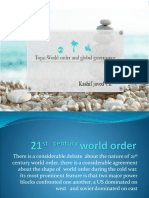 21st Century World Order