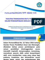 1. Pengembangan RPP Abad XXI