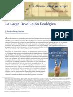 La larga revolución ecológica