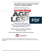 Becoming Ageless the Four Secrets