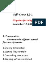 Self- Check 3 111219 G10