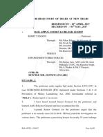 Rohit Tandon Bail Application