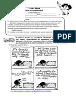 Guia de Trabajo Comic Tercero