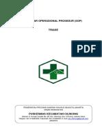 Standar Operasional Prosedur Triase New